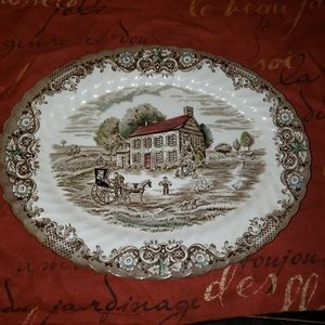 Johnson Brothers Heritage Hall platter